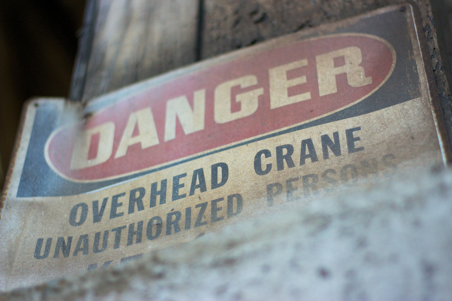 Danger — Unauthorized Persons